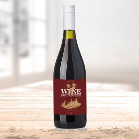 Etykiety na wino - Drukarnia Etykiet LabelExpress.Eu