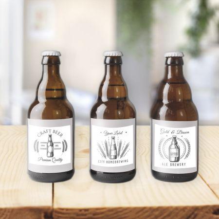 Samoprzylepne etykiety na piwo - LabelExpress.eu