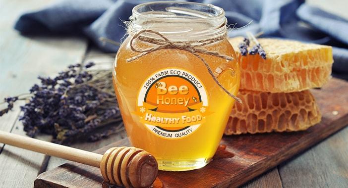Honing etiketten