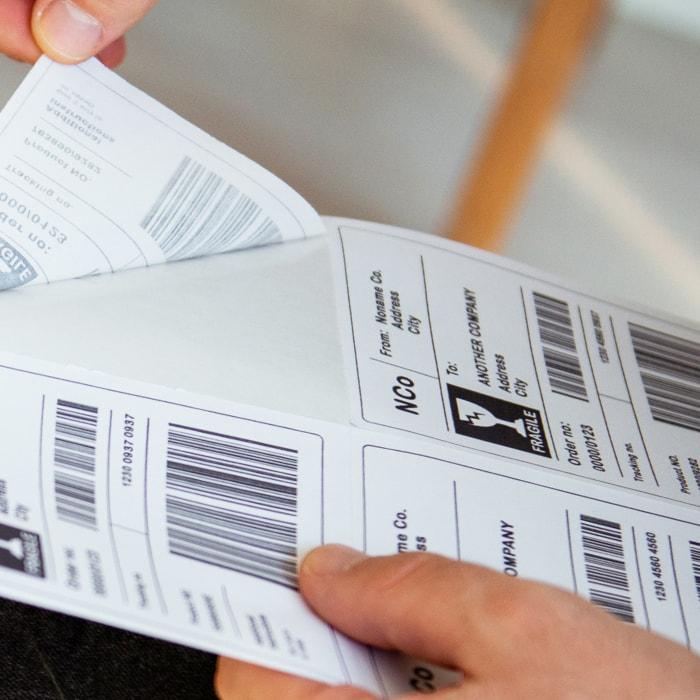 Les Étiquettes Avec Données Variables